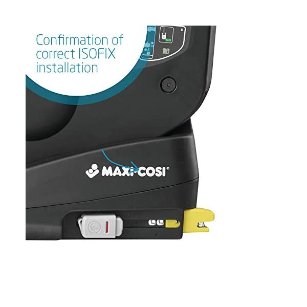Maxi-Cosi TobiFix Toddler Car Seat Group 1, Forward-Facing ISOFIX Car Seat, 9 Months-4 Years, 9-18 kg, Nomad Red Maxi-Cosi Seat fits solid and secure using the car's isofix Very easy adjustment of safety harness and headrest height 3 comfortable recline positions from sitting to sleeping 3