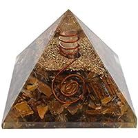 Tiger-Augen-Stein Orgon Pyramid-Energie-Generator Meditation Entspannung Spirituelle Geschenk preisvergleich bei billige-tabletten.eu