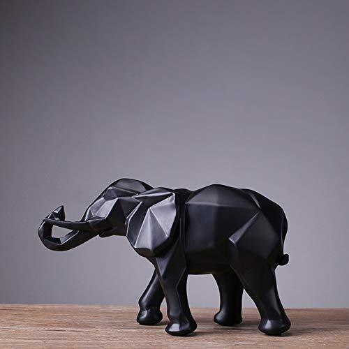 Estatuas Escultura,Figurilla Adornos de Resina Casa de artesanías Decoración de artesanía Elefante...