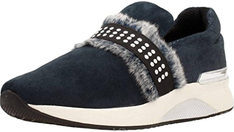 scarpe da ginnastica slip on donna Cafè nero DA522 nero | New Style  | Uomini/Donne Scarpa