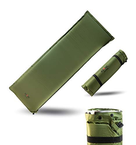 RSonic Selbstaufblasende Isomatte   Selbstaufblasbare Matratze   Thermo Luftmatratze   Campingmatte   Ventil   erweiterbar   220x80cm   (Stärke 8cm)
