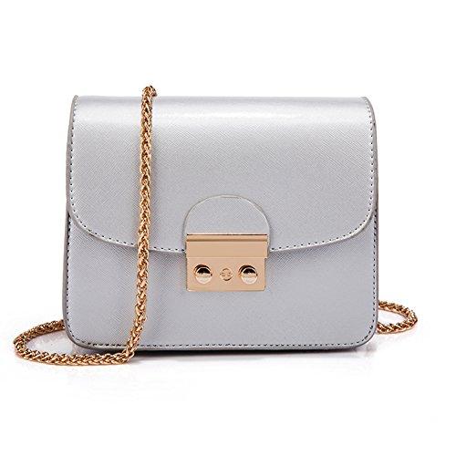 Borse da donna/ borsa catena selvatici/Pacchetto circa il blocco spalla/borsa a tracolla Incline/Borsa mini-C G