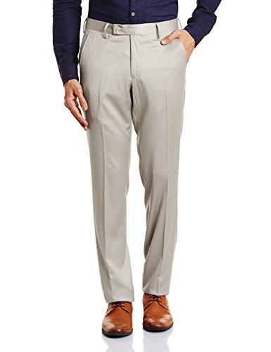 John Miller Men's Formal Trousers (8907372340814_1OT25031_32_Beige)