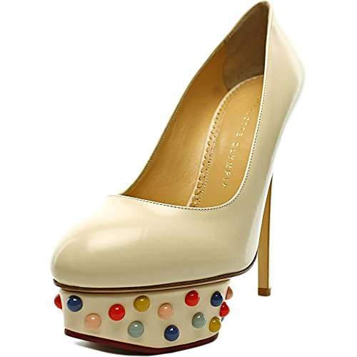 charlotte-olympia-dolly-studs-women-us-55-white-heels