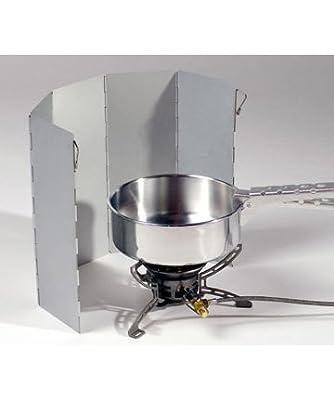Alu Windschutz 5 Lamellen für Kocher - Faltbar von Relags auf Outdoor Shop
