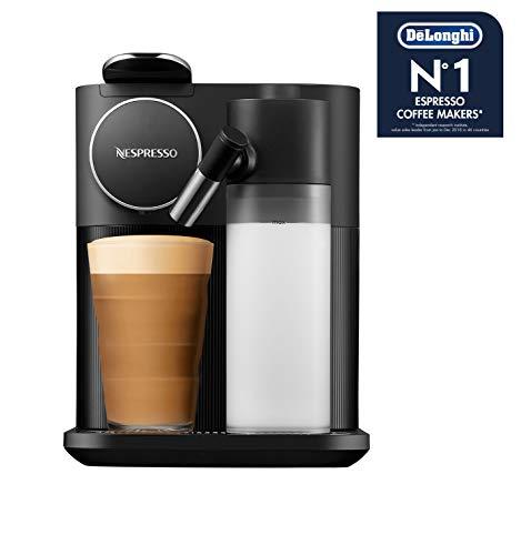 De\'Longhi Nespresso Gran Lattissima EN650.B Kapselmaschine, Kaffeemaschine mit Milchaufschäumer, für 6 Kaffee-Milchgetränke per Fingertip, 36,7 x 20,3 x 27,6 cm, schwarz