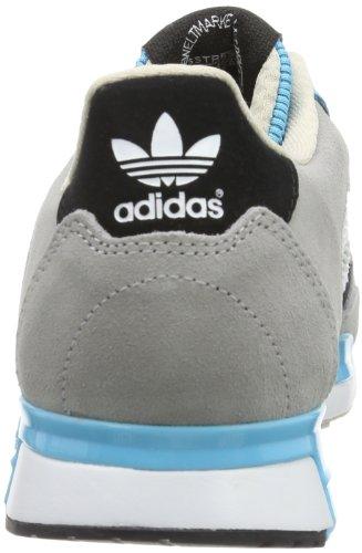 adidas Zx 850, chaussures basses homme gris - Aluminium/Samba Blue