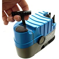 Cyclaire Inflator Xtra Camping / Air Bed / Bike / Cycle Pull Cord Inflator Pump Blue