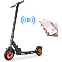 GoZheec Electric scooter, KIRIN S1 foldable electric scooter, APP control, 350W motor 6AH high-performance battery max speed reaches 25km / h, 8-inch tires for adults and teenagers