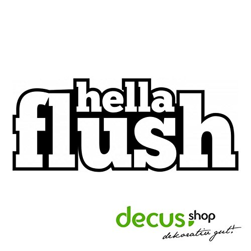 HELLA FLUSH L 1965 // Sticker OEM JDM Style Aufkleber (Weiß) 1965-spielzeug