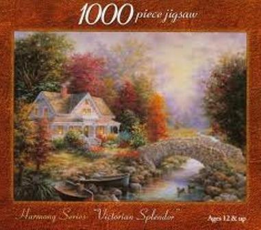 Harmony Series: Victorian Splendor: 1000 Piece Jigsaw Puzzle -