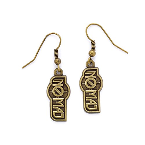 Fantastic Beasts No-Maj Earrings (antique brass plated) Other Bracciali