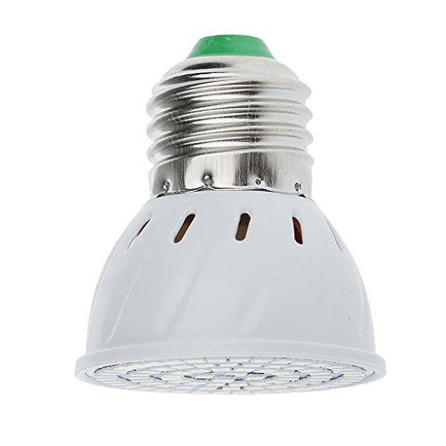 enlichter Pflanzenlampe E27 8W Pflanzenleuchte für Zimmerpflanzen Gewächshaus Blumen und Gemüse - 8W ()