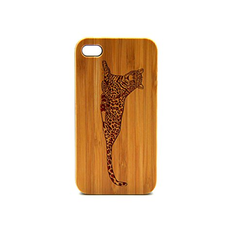 Krezy Case Real Wood iPhone 6 Case, leopard iPhone 6 Case, Wood iPhone 6 Case, Wood iPhone Case,