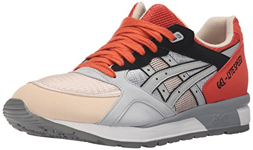 Asics Gel Lyte Speed Hommes Synthétique Baskets Light Grey-Light Grey