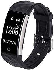 Bracelet IRUIS Activity, Bluetooth Smart Touchscreen Bracelet, Sleep Monitor, Pedometer, Calories, Waterproof, Compatible with iPhone and Android Smartphone