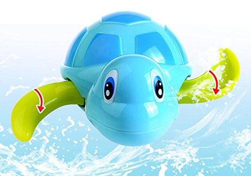 e Schildkröten Bad Spielzeug -Color zufällig (Niedliche Neugeborenen)