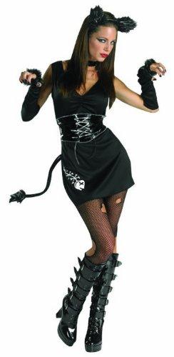 Cesar C462-002 - Disfraz de gata para mujer, talla 12/14