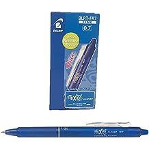 Pilot NFCA - Bolígrafo borrable, color azul, paquete de 12 unidades