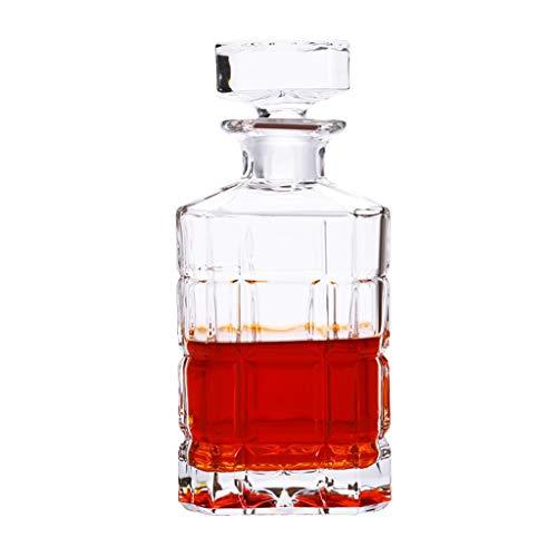 Wein Dekanter aus Glas für Spirituosen, Dekantierer - 900 ml (32 oz). 32 Oz Crystal