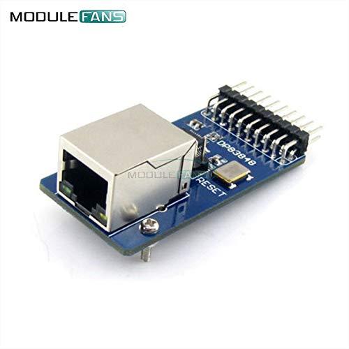 DP83848 Ethernet physikalische Schicht Transceiver RJ45 Control Interface Board Embedded WEB Server RJ45 Modul