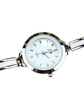 Sannysis 1pc Frauen Elegante Frauen-Mädchen-Armband-Uhr-Quarz-OL Damen-Armbanduhr