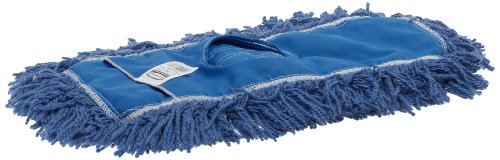 Rubbermaid FGJ35200BL00 18 Inch Twisted Loop Synthetic Dust Mop, Blue, 18.3 Inch x 1.968 Inch x 1.968 Inch
