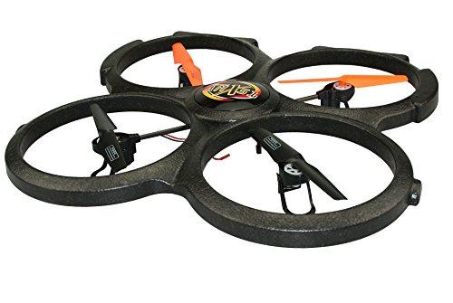 Amewi 25157 - Quadrocopter AM X51 Spy V2 mit HD-Cam und Speicherkarte