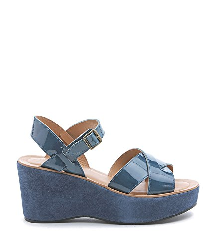 Kork-Ease, Mules pour Femme Bleu