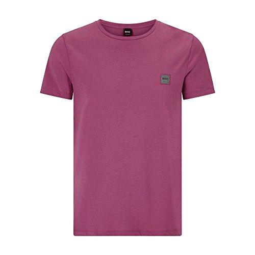 BOSS Casual Hugo Boss T-Shirt - Herren Tommi UK T-Shirt in Beerenrot - Small