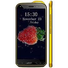 Cellulari Offerte,telefonia mobile X6 8.0MP Fotocamera 1GB RAM - 16GB ROM Smartphone offerta del giorno Dual SIM, Android 7.0, 5,0 inch HD Quad Core 3200mAh GPS Cellulari in Offerta (Oro)