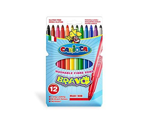 Carioca Bravo Extra-grueso Multicolor 12piezas - Rotulador