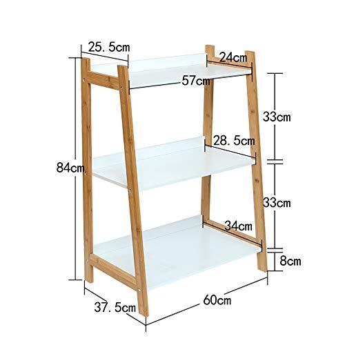 kshelf Boden modernen minimalistischen Schlafzimmer Wohnzimmer Bambus Blume Stehen mehrschichtige einfache ()
