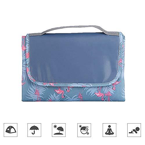 Joy-Fun Picknick Zubehör Picknickdecke Outdoor Wasserdicht Campingdecke Flamingo Muster Draussen Matte 150 * 150cm Stranddecke für Garten Reise Geschenke für die Familie