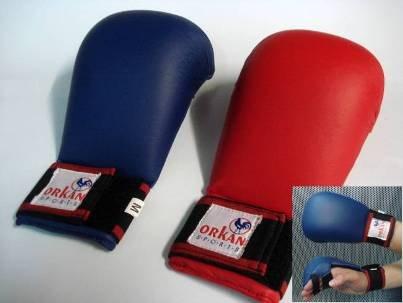 Orkansports [Orkan] Karate Handschutz Iadro Kimite blau (XS)