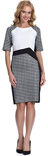 bellivalini-womens-dress-arla-black-white-3641-eu-50uk-22