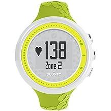 Suunto M2 LIME - Reloj deportivo (Dot-matrix, 43,6 x 13 x 43,6 mm, 40g, Amarillo, CR2032, 8760h)