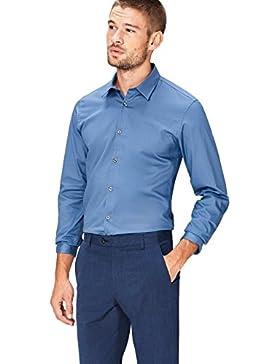 [Sponsorizzato]FIND Camicia Classica Slim Uomo