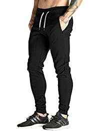 MODCHOK Homme Pantalon Jogging Bas de Survêtement Sweat Pants Sport Slim Fit
