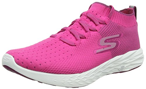 de Fitness Rose Skechers Pink Go 6 Run Chaussures Femme XwASIpxq