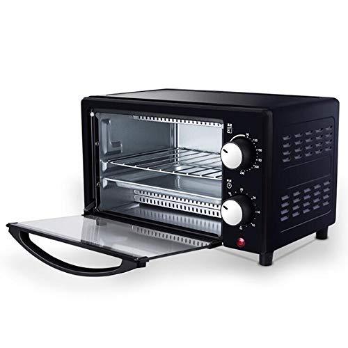 LSLVKEN 800W Toaster Ofen, 11-20L Kapazität, 60 Minuten Timer Verstellbarer Thermostat, Multi-Function Oven Home [Energy Class A]