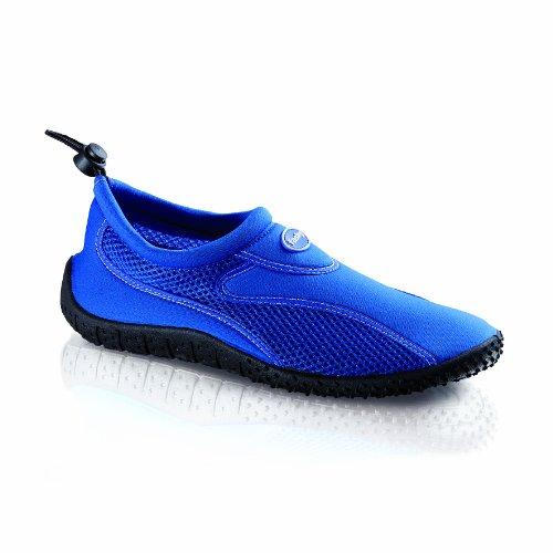 Fashy Cubagua Aqua-Schuh 7588 53 Damen Dusch- & Badeschuhe Blau (blau-schwarz 53)