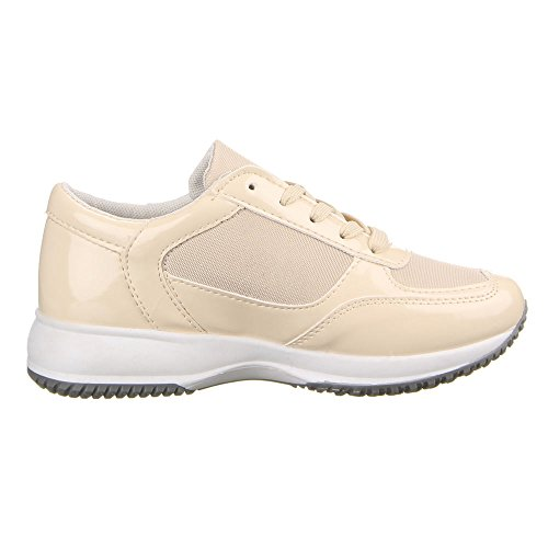 Femme 22–148 à chaussures de loisir Beige - Beige