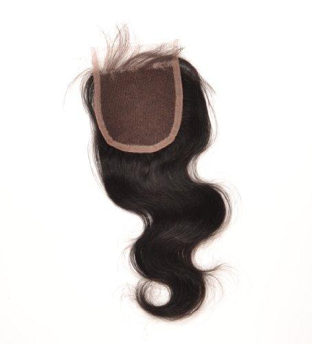 Marque : shuiniuyan cheveux ondulés brésiliens (10,2 x 10,2 cm), 40,6 cm couleur naturelle.