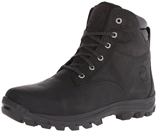 Timberland Men's Chillberg Mid Waterproof Boot,Black,11.5 M US Black