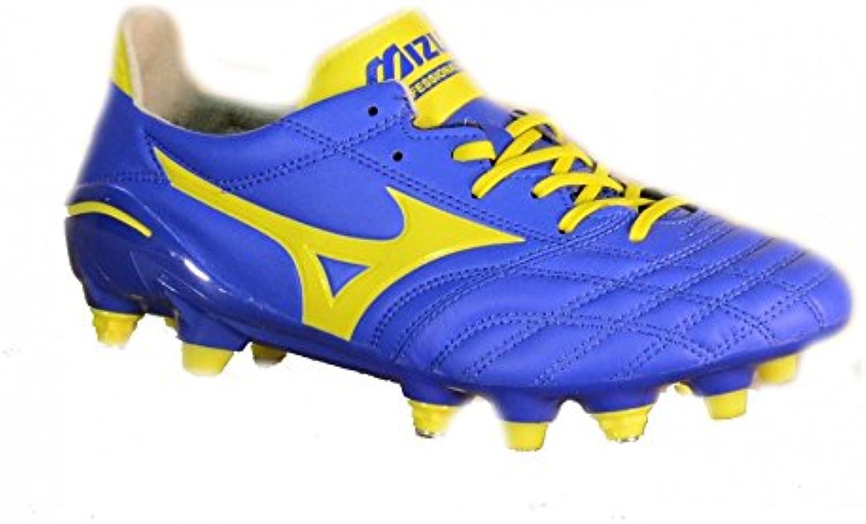 Morelia de mezcla de SG Dazzling Neo Botas de fútbol azul/perno en forma de/de color blanco