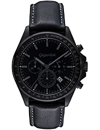 Gigandet VOLANTE Herren Armbanduhr Chronograph Analog Quarz Schwarz G3-005