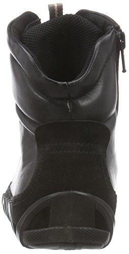 Ecco Ecco Dayla, Bottes Combat de hauteur moyenne, doublure froide femme Noir - Schwarz (Black/Black)