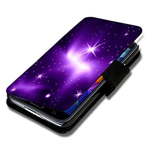 Book Style Handy Tasche - Design G5 - für HTC Desire 626G - Cover Case Schutz Hülle Etui Schutzhülle