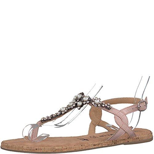 Tamaris 1-1-28099-20 Damen Sandale, Sandalette, Sommerschuhe Für Die Modebewusste Frau Rosa (Rose), EU 36